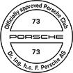 Officially approved Porsche Club 73